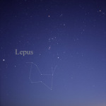 Orion, Lepus